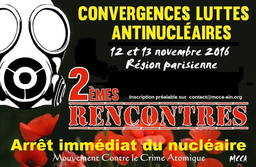 2èmes Rencontres Nationales contre le crime atomique